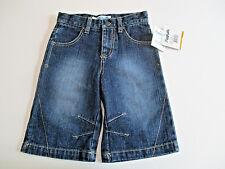 Flapdoodles Pants Jeans Sz. 3T, Girl's Capris Dark Denim Blue Crop Culottes NWT