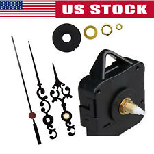 DIY Wall Clock Movement Mechanism Battery Operated Repair Parts Replacement