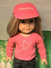 American Girl Place Pink Hat and Shirt