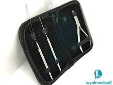 """Micro Anelli Hair Extension montaggio pinze 5"""" KIT CON AGHI trazione e Loop"""