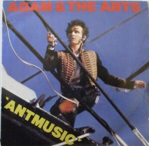 "ADAM & THE ANTS - Antmusic ~ 7"" Single PS"