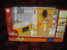 Badzimmer mit Funktion  Puppenhaus-Puppenstube-Puppenküche