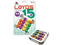 LOYD'S 15 BLOCK & ROLL PUZZLE BRAIN TEASER MIND BENDER NOVELTY TRICK TOY GAME