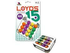 LOYD'S 15 BLOCK & ROLL PUZZLE BRAIN TEASER MIND BENDER NOVELTY TRICK TOY GAME