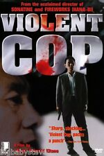 VIOLENT COP Brand New & Factory Sealed DVD Violent Cover Takeshi Beat Kitano