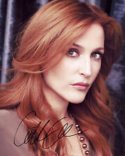 Gillian Anderson - Signed Autograph REPRINT