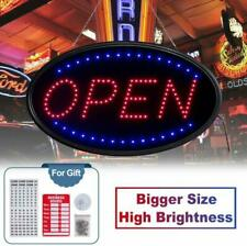 T-Sign Large Led Open Sign,23X14 Inches Lighted Neon Open Sign Include Free Busi