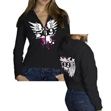 509  CLOTHING APPAREL - 509 WOMEN BLACK ZIP  HOODY – LARGE   # 509-CLO-WWH-LG