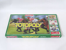VIntage 1972 Waddingtons Totopoly Horse Racing Board Game Still Sealed Brand New