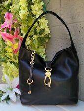 NEW Dooney& Bourke Logo Lock Sac florentine Leather Shoulder hobo purse Tote Bag