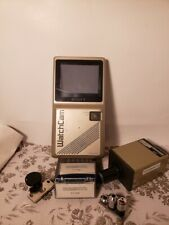 Retro JVC Camera and Sony Watchcam in Case With Lenses