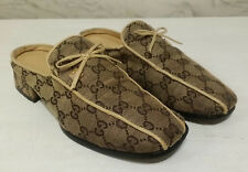 GUCCI Women's Monogram Mules Shoe Size 7