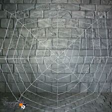 Giant 1.5m White Halloween Shop Party Spiders Webbing Spider Web Decoration Prop