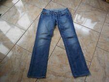 H8071 G-Star Midge Straight WMN Jeans W31 L32 Dunkelblau Unifarben Gut