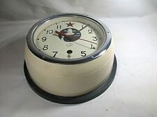 Vintage Soviet Cccp/Ussr Russian Submarine Maritime Clock Nautical Collectible