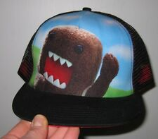 Waving Domo Trucker Hat Flat Bill Snapback Adult Hat One Size Fits Most