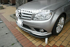 Benz W204 C300 4Matic with Sport Package 2007-2011 Carbon Front lip Spoiler