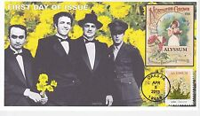 Jvc Cachets - Vintage Seed Packets First Day Cover Fdc Godfather Family -Alyssum
