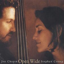 Audio CD: Open Wide, Stephan Crump, Jen Chapin. Acceptable Cond. . 783707508726