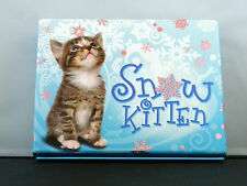 Rare Snow Kitten Stationery Box ~ Christmas Theme Near Mint ~ Unused!