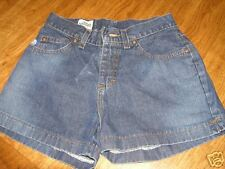 Lee DUNGAREES denim shorts, size 3 jr  nice and cute