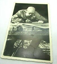 c 1910 Kaiser Franz Joseph I Seated At Table Signing RPPC Real Photo Postcard