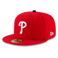 Philadelphia Phillies PHI MLB Authentic New Era 59FIFTY Fitted Cap 5950 Hat Red