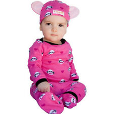 Monkey Baby Outfit Pink 4 Piece Set by Noo Designs