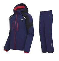 DESCENTE SLADE Ski Jacket + ROSCOE Ski Salopette Completo Uomo Sci DWMQGK17 65