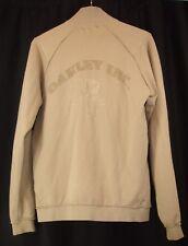 Oakley Assault Gear AB 2015 Mens Full Zip Long Sleeve Beige Sweater M