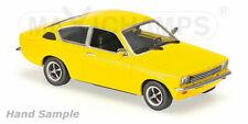 Minichamps 1:43 Opel Kadett C Coupé 1974 - yellow