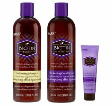 Hask Shampoo and Conditioner with Thickening Cream (BIOTIN BOOST)