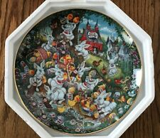 Franklin Mint - Bill Bell, Pepsi Cola Easter Greetings Plate NEW Limited Edition
