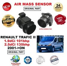 FOR RENAULT TRAFIC 1.9 2.5 dCi 100 135 2001-> AIR MASS SENSOR 6-PIN with HOUSING