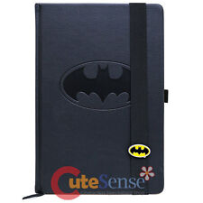 DC Comics Batman Logo Premium Journal A5 Notebook Leather Sketchbook