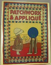 PATCHWORK & APPLIQUE BOOK INSPIRATION FOR QUILTERS 1977