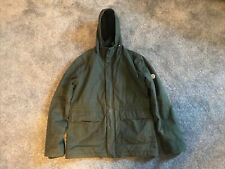 Mens Green Norse Project Classic Nunk Winter Jacket - Size Large