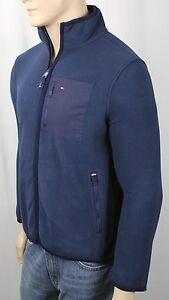 Tommy Hilfiger Blue Fleece Jacket NWT $129