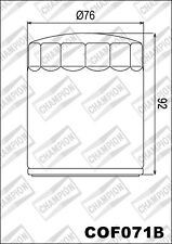 COF071B Filtro De Aceite CHAMPION Buell1200 Blanco Lightning X1W12002002