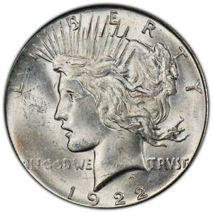 1922-D PCGS MS63 Peace Dollar