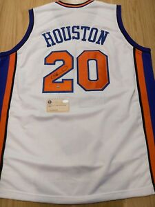ALLEN HOUSTON - New York Knicks Signed Jersey with COA