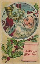 CHRISTMAS – Santa Ringing Bell - 1912
