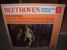BEETHOVEN symphony no 6 pastoral / funk & wagnalls 1 ( classic ) SEALED NEW