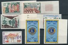 [20837] Chad good lot very fine MNH airmail stamps