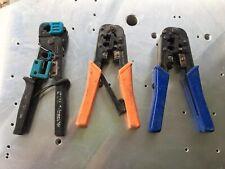 LOT 3X IDEAL Telemaster 30-496 Paladin Crimping Crimper Crimp tool wire stripper