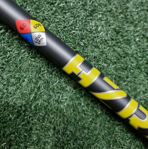 PROJECT X HZRDUS SMOKE YELLOW 60 (6.0) STIFF SHAFT - CHOICE OF ADAPTOR ADAPTER