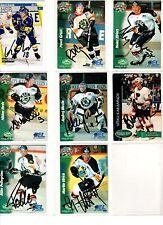 NHL/DEL Trading Cards---8 unterschriebene Cards der Berliner Preussen