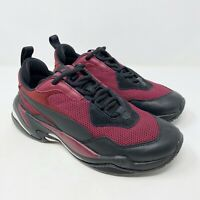 Puma Thunder Spectra Jr Sneakers Casual Burgundy Youth Size 6.5