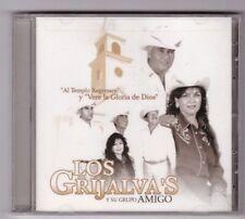 """Los Grijalva's y su Grupo """"Al Templo Regresare"""" y """"Verle la Gloria de Dios"""" CD"""