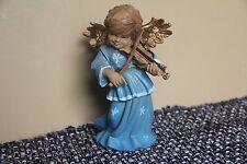 Italian Depose? Angel Cherub Figurine Roman Italy Nativity Christmas Music Guita